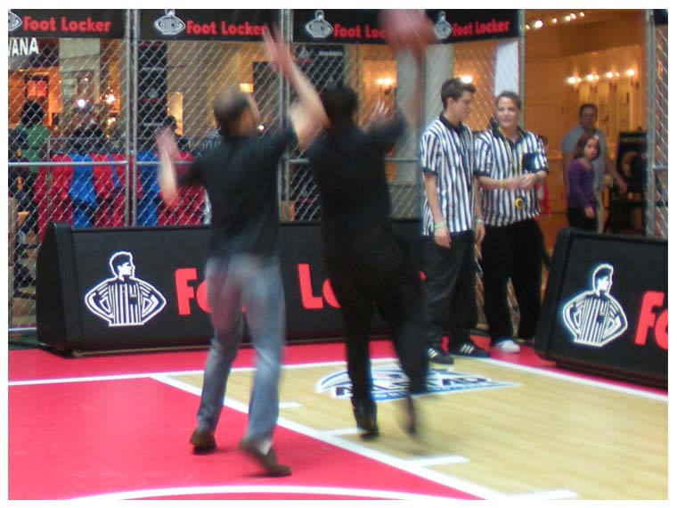Foot Locker Half-Court
